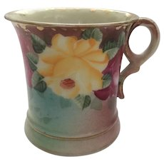 Royal Kinran Nippon Hand Painted Roses Shaving Mug