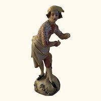 """Antique 5.5"""" Chelsea figurine"""