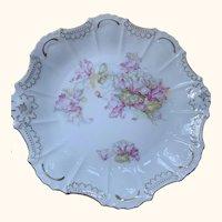 "6 Beautiful Antique Victorian plates 8""x8"""