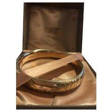 14kt Gold Filled Vintage Bracelet in orig. box great condition!