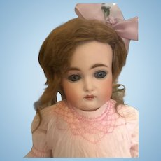 """Kammer & Reinhardt Early #192 Closed Mouth 18"""" Antique Doll Gorgeous Bisque,Orig Wig-Body-Gorgeous Clothes"""