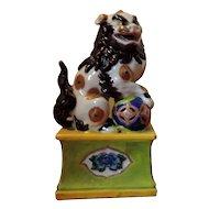 Antique 19th century Japanese Imari Foo Dog Lion