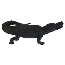 Antique 19th century Inkwell in the Form of an Alligator