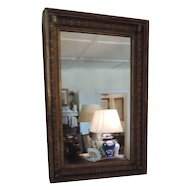 Antique Early 19th century American Classical Federal Gilt Pier Mirror in the Empire Taste 1820