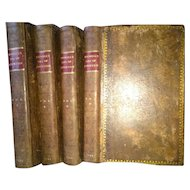 """""""The Life of Samuel Johnson"""" by James Boswell Full Leather Binding 1799"""