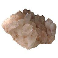 Giant Natural Rock Crystal Mineral Specimen