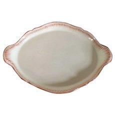 Large Antique 18th century George III Wedgwood Creamware Handled Tray c. 1790