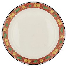 """Large Antique Early 19th century Spode Creamware Charger Platter 16.75"""" Diameter Circa 1810 - 1820"""