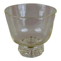 Very Large Steuben Crystal Punch Bowl or Centerpiece Vase with Original Felt & Presentation Box