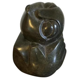 Chinese Mid Century Carved Stone Modernist Sculpture