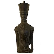 """Large British Art Deco Bronze Figure of a Soldier or Queen's Guard Beefeater Signed """"From Model by Harry Banks BWS"""" and """"Nestor"""" Converted to a Table Lamp"""