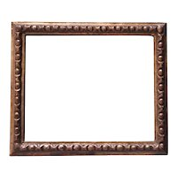 Antique 18th century Italian Rococo Carved & Gilt Wood Picture Frame