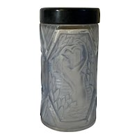 Art Deco 1928 Corday Molded Glass Rene Lalique Perfume Atomizer Bottle Base