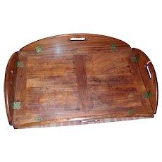 Antique 19th century English Regency Mahogany Butler's Tray