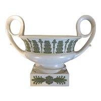 Antique Early 19th century English Regency Wedgwood Neoclassical Vase Urn of Greek Kantharos Shape