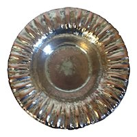 William Waldo Dodge Hand Hammered Copper Waterfall Bowl with Silver Plate Asheville, NC 1933