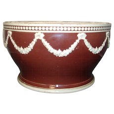 Antique 18th century Wedgwood Creamware Neoclassical Bough Pot Planter
