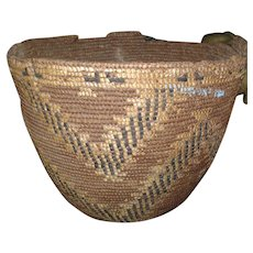 Large Antique 19th century Native American Indian Basket