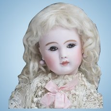 """12 1/2"""" (32cm) Antique Tiny French Bebe doll Figure A by  Jules Steiner, c.1885"""