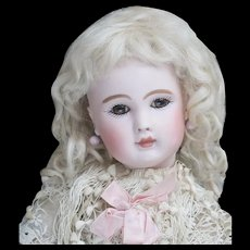 "12 1/2"" (32cm) Antique Tiny French Bebe doll Figure A by  Jules Steiner, c.1885"