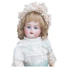 "13"" (33cm)  Very Pretty Antique German Bisque Child doll by Simon & Halbig / Kammer & Reinhardt, model 34"