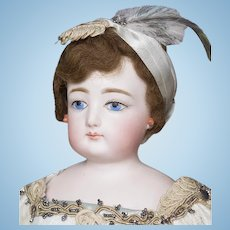 "16"" (40cm) Antique French Fashion Poupee doll by Gaultier marked F.G."
