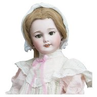 "22"" (56cm) Antique All Original French Bisque Paris Bebe Doll, 301, with Factory Dress"