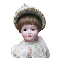 "12 1/2"" (32cm) Rare German Bisque Character Doll, Model 2033 537, by Bruno Schmidt Known as Wendy"
