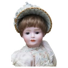 """12 1/2"""" (32cm) Rare German Bisque Character Doll, Model 2033 537, by Bruno Schmidt Known as Wendy"""
