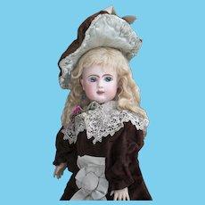 "17 1/2"" (45cm) Very Beautiful Antique Frech Bisque Bebe Doll by Steiner Figure A Le Parisien"
