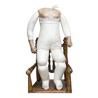 "13"" (33cm) Antique French Rare Mulatto Bru Body Depose in very good condition"