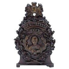 Antique Cast Iron Our Kitchener Still Bank