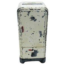 Antique Servel Electrolux Refrigerator Shape, BANK, C-1920
