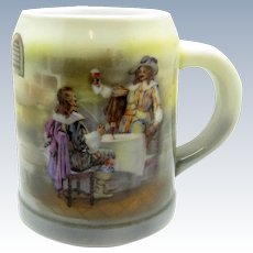 Antique Royal Bayreuth Musketeers Stein