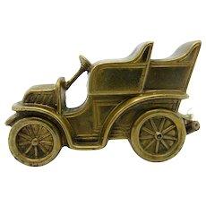 Antique Brass Automobile, Car Tape Measure, RARE