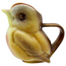 Antique Royal Bayreuth Robin, Bird, Creamer