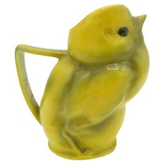 Antique Royal Bayreuth Yellow Chick Creamer
