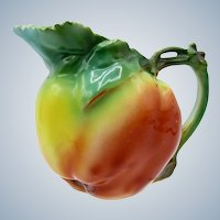 Antique Royal Bayreuth Apple Shaped Creamer