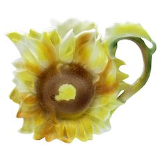 Antique Rare Sunflower Creamer, Royal Bayreuth