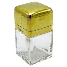 Antique 9KT Gold Perfume Scent Bottle, Birmingham, England, 1912
