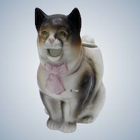 Antique Schafer and Vater Kitty Cat Creamer