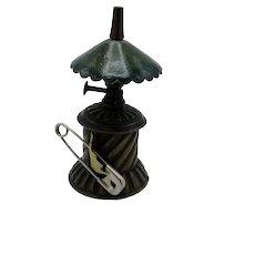 Antique Gas Lantern Shaped Tape Measure