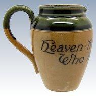 Antique Royal Doulton Motto Ware Creamer, Pitcher