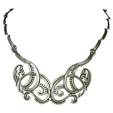 Margot de Taxco Vintage Mexican Silver 925 Necklace 5308