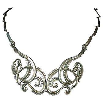 Margot de Taxco Vintage Mexican Silver 925 Necklace 5308