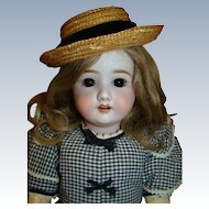22.5 In. Antique Bisque Head Mystery Maker Doll