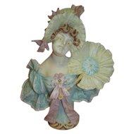 Antique German Porcelain Art Noveau Figurine by J.D. Kestner