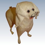 Antique Straw Filled Spaniel Dog for your Antique Dolls