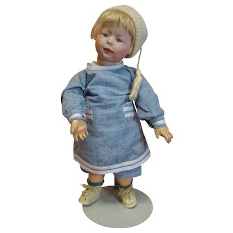 "15 In. Unique, Rare Simon Halbig Character ""Freddie"" Toddler, Mold #1428,"