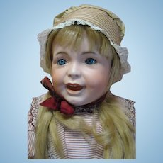 """27 In. French SFBJ Character """"Laughing Jumeau"""" Toddler Mold 236"""